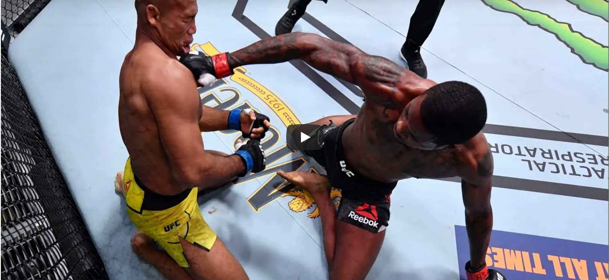 UFC Knockout of the Year 2020 video