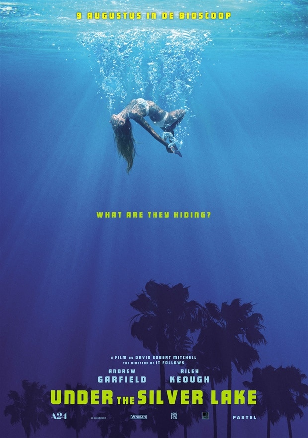 Under the Silver Lake poster NL