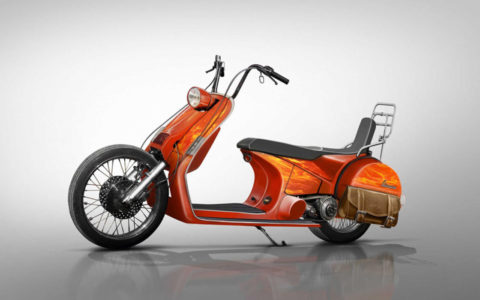 Vespa Concepts motor scooter