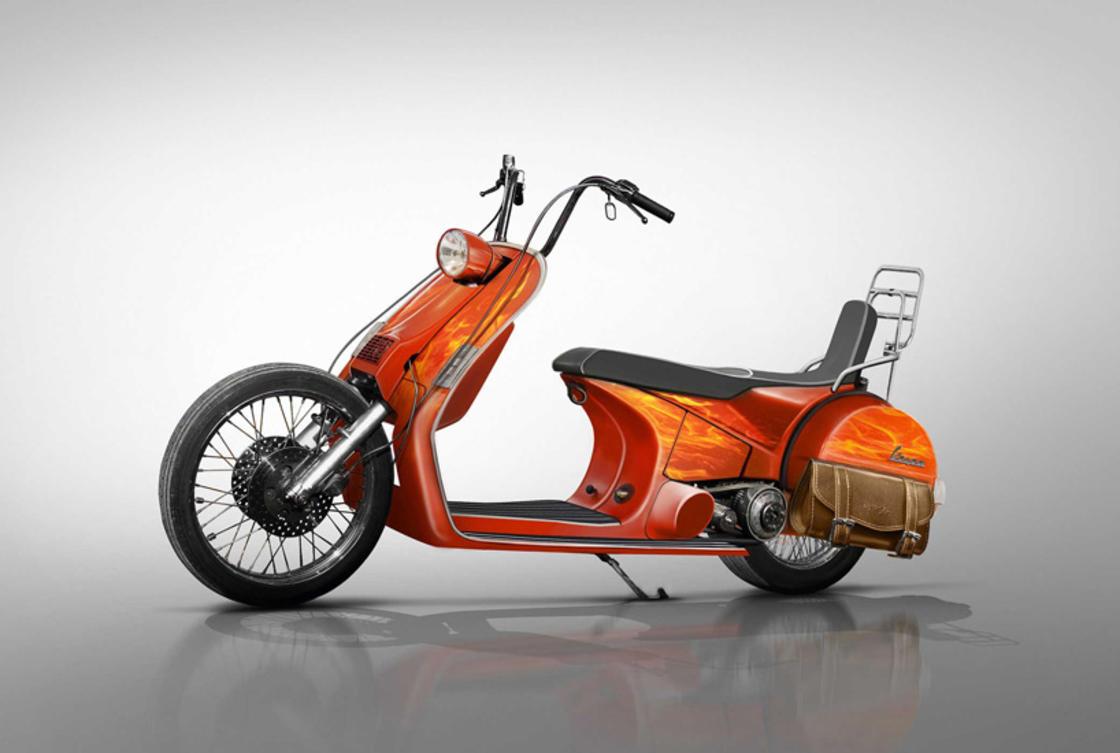 Vespa Concepts motor scooter