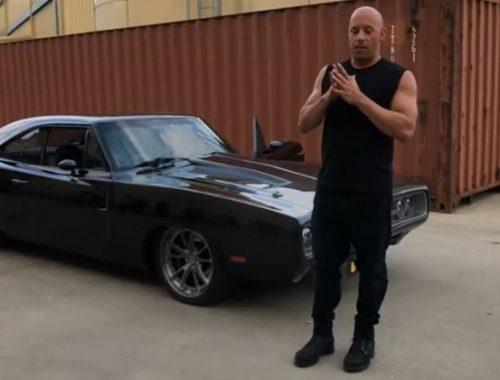Vin Diesel krijgt 1970 Dodge Charger cadeau op set Fast & Furious 9
