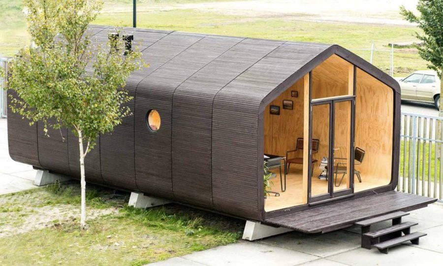 ecologische modulaire woning Wikkelhouse
