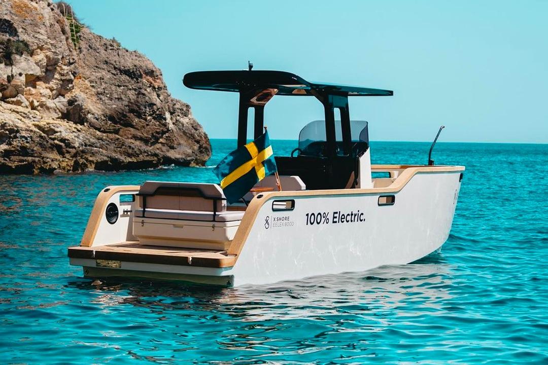 X SHORE Eelex 8000 elektrische boot