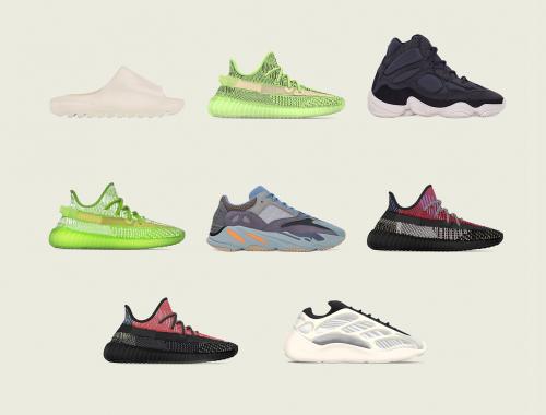 YEEZY sneakers releases december