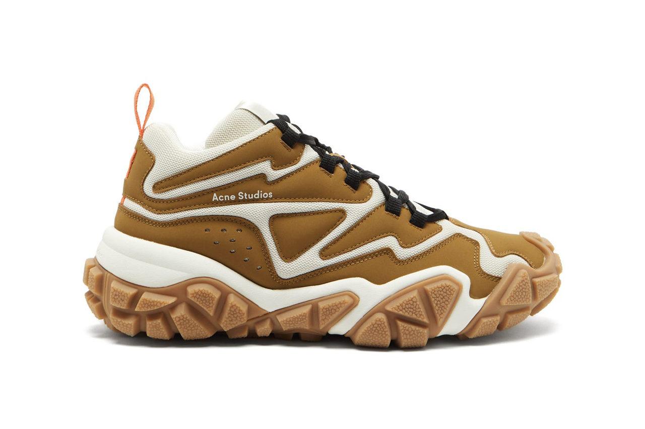 Acne Studios Chunky Sole Suede and Mesh sneakers