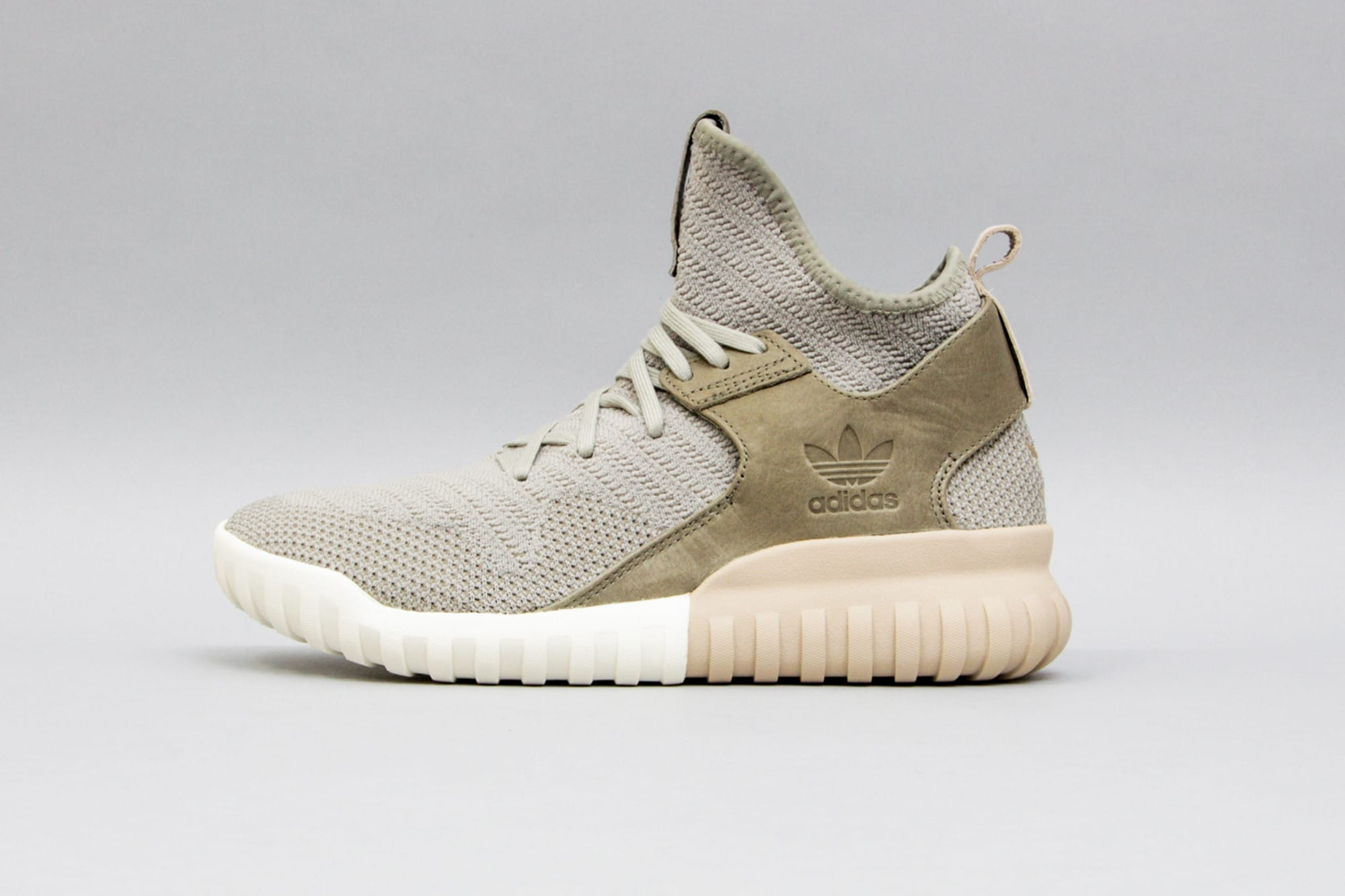 Adidas Tubular X Men 's Taupe Athletic Lifestyle Sneaker Shiekh Shoes