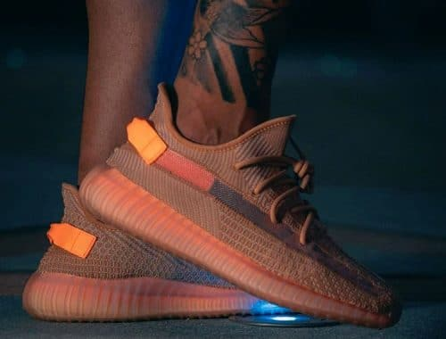 adidas YEEZY BOOST 350 V2 Clay on-foot