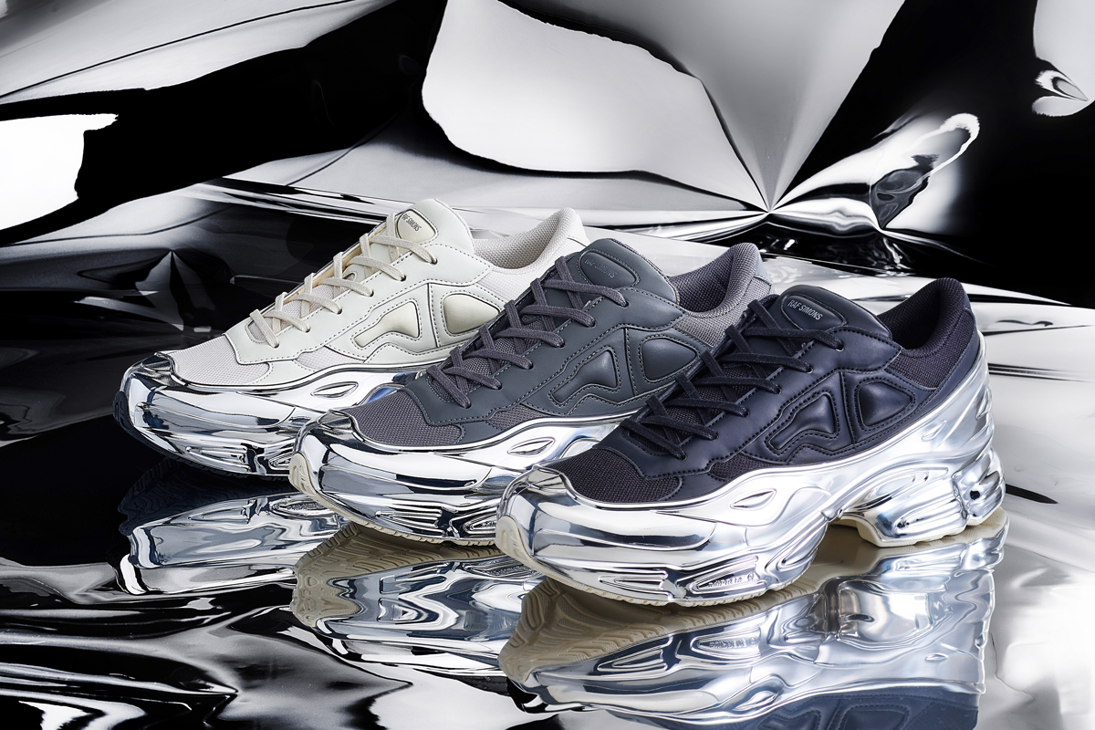 adidas by Raf Simons RS Ozweego Chrome is shiny AF | MANNENSTYLE