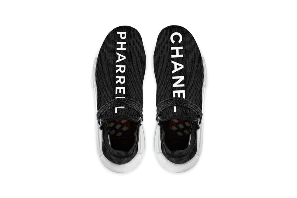 Chanel x Pharrell x adidas NMD Hu