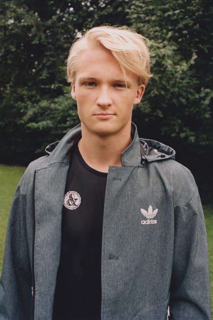UNITED ARROWS & SONS x adidas Originals Capsule Kasper Dolberg