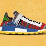 adidas x Pharrell Afro Hu NMD sneakers