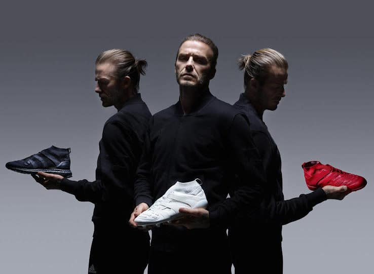 adidas x David Beckham Predator Capsule Collection voetbalschoenen.