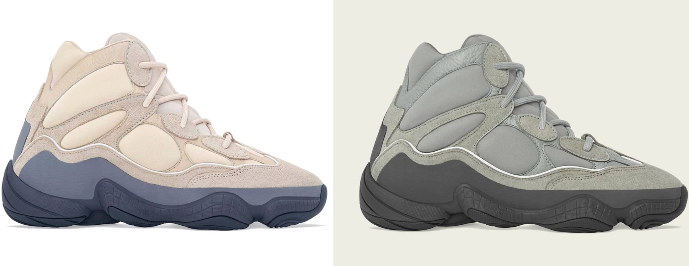 "adidas YEEZY 500 High ""Wakaran"" - YEEZY 500 High ""Mist Slate"""