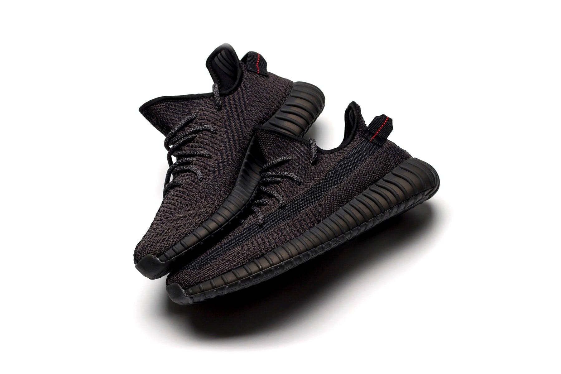 adidas YEEZY BOOST 350 V2 Black en Black Static release date
