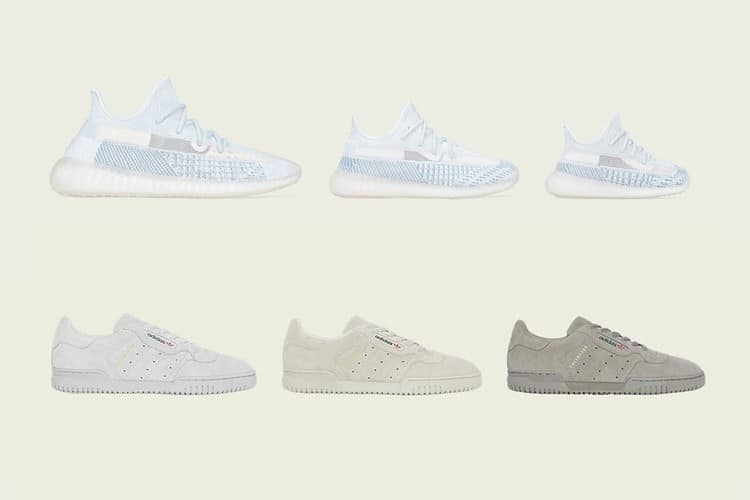 adidas yeezy boost 350 v2 cloud white release date - adidas YEEZY Powerphase 2019