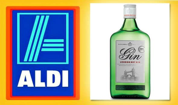 Aldi's Gin - Oliver Cromwell London Dry Gin