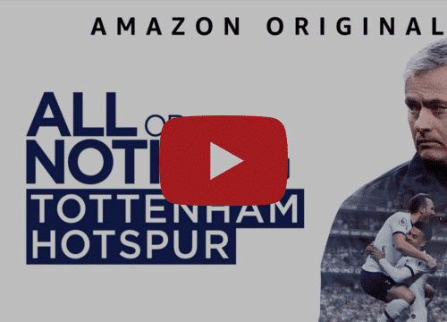 All Or Nothing: Tottenham Hotspur documentaire serie Amazon