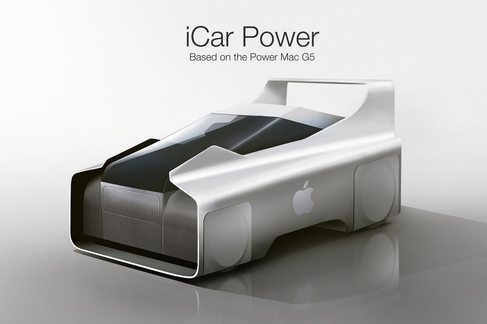 Apple iCar concept clickmechanic autonieuws