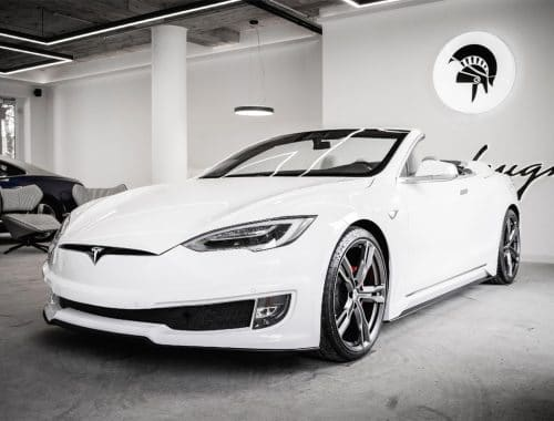 Ares Design Tesla Model S-cabriolet