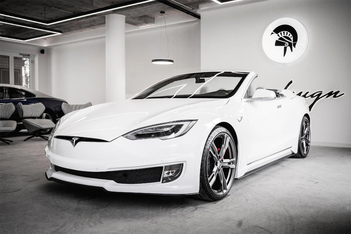 Ares Design Tesla Model S-cabriolet