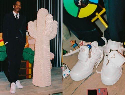 Prada x adidas Forum sneakers A$AP Rocky