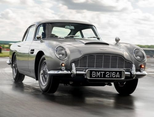Aston Martin DB5 Goldfinger Continuation James Bond auto