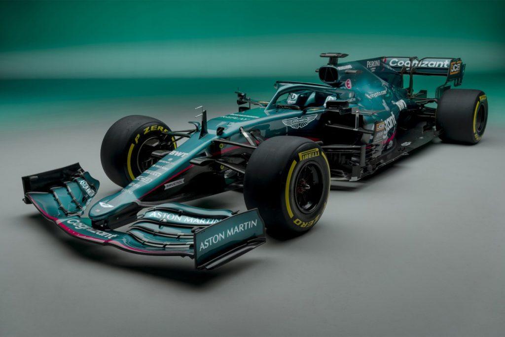 nieuwe Aston Martin Formule 1-auto na 60 jaar