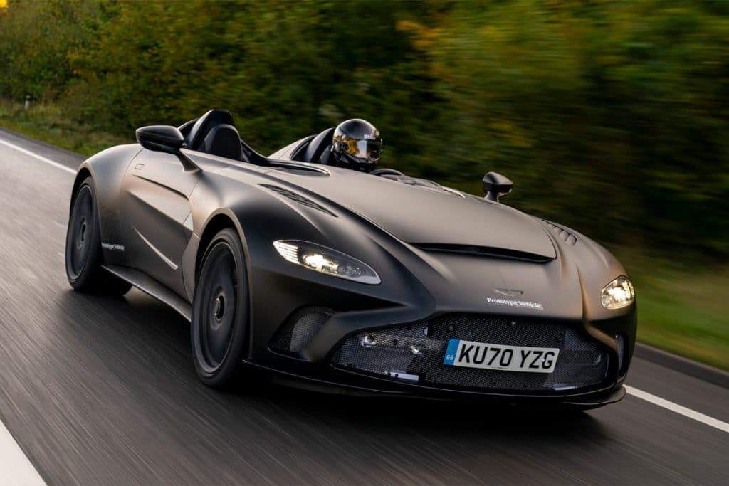 Aston Martin V12 Speedster-prototype is dakloos met 700pk ...