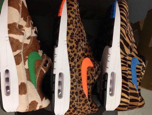 "atmos x Nike Air Max 1 ""Animal 3.0"""