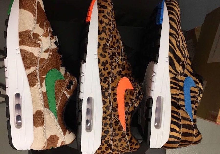 Nieuwe atmos x Nike Air Max 1 Animal 3.0 foto's | MANNENSTYLE