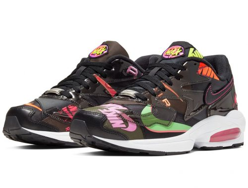 atmos x Nike Air Max2 Light Black