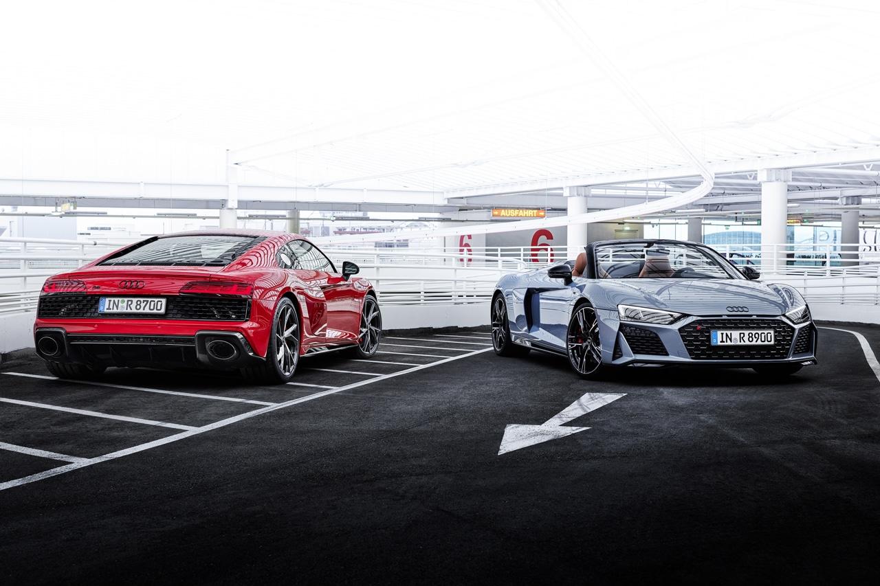 Audi R8 V10 Performance RWD Coupé en Spyder