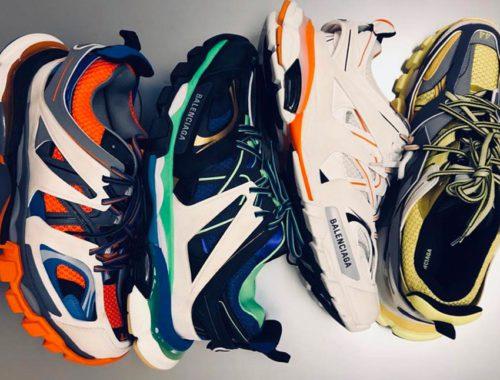 Nieuwe Balenciaga Trail Runner sneakers FW 2018