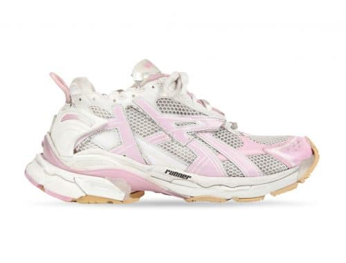 "Balenciaga Runner ""White/Pink"""