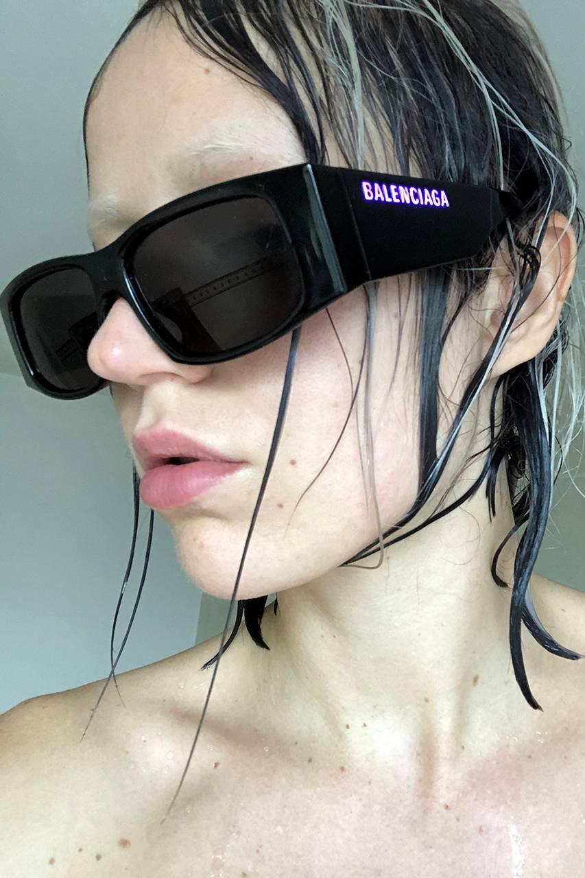Balenciaga LED-zonnebrillen Spring Summer 2020