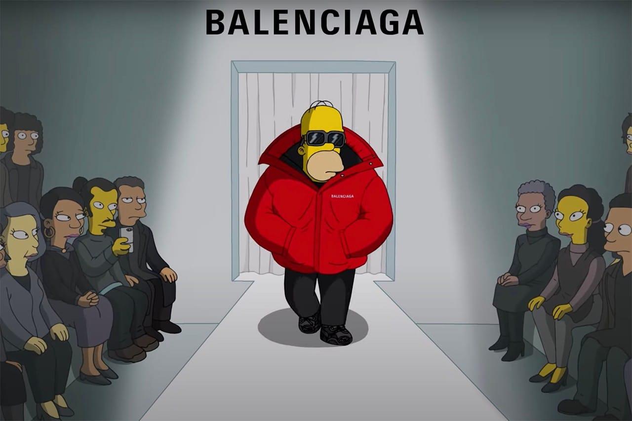 Balenciaga The Simpsons SS22