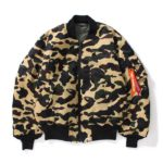 BAPE x Alpha Industries Fall/Winter 2017 Capsule collectie - 1ST CAMO bombers - Shark Jackets