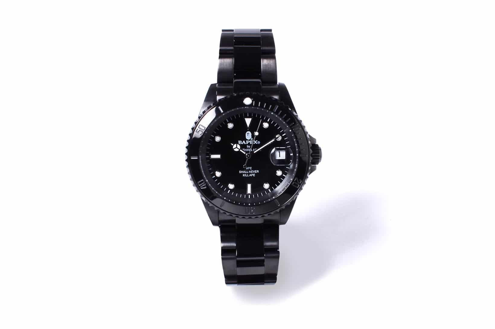 BAPE horloges BAPEX TYPE-1
