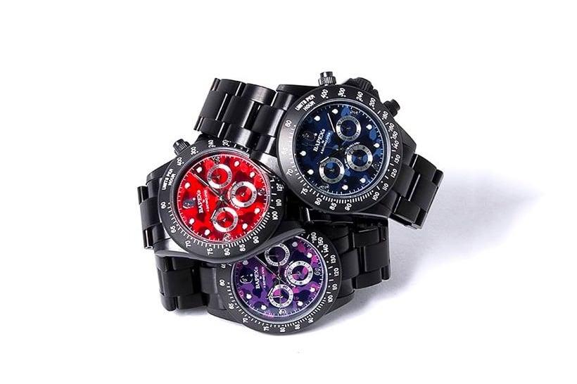 BAPE BAPEX TYPE-3 horloge