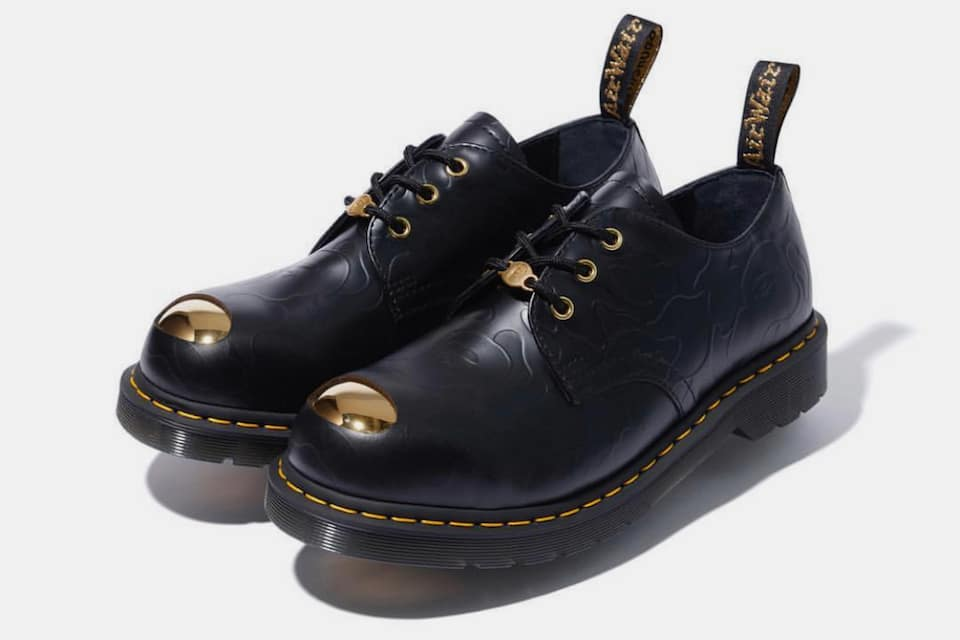 BAPE x Dr. Martens ABC 3-Hole Steel Toe Cap