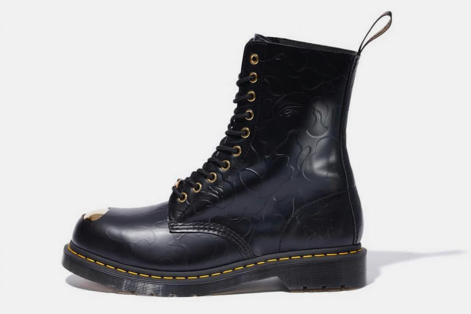 BAPE x Dr. Martens ABC 10-Hole Steel Toe Cap