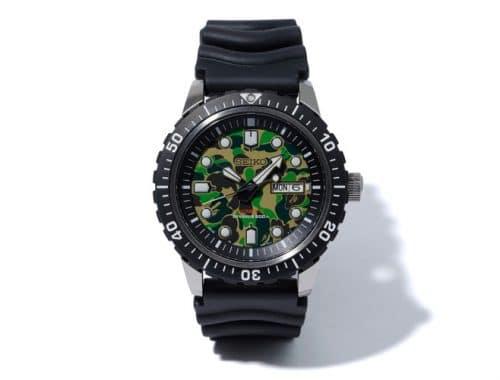 BAPE x Seiko Mechanical Diver's Watch