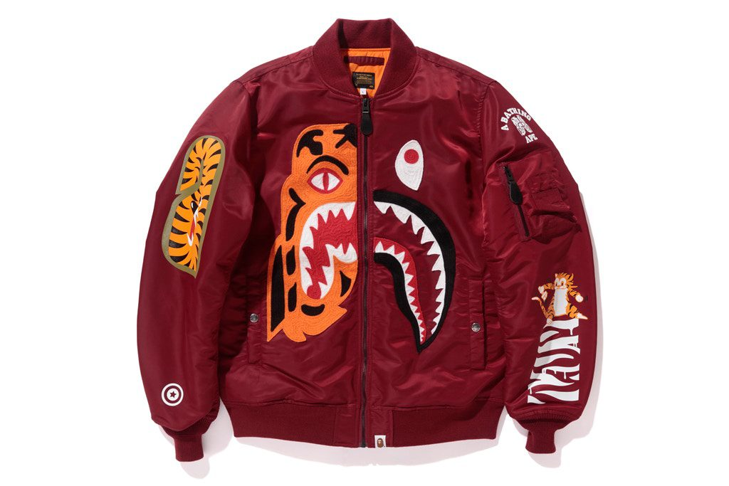 BAPE Tiger Shark 2017 Fall winter