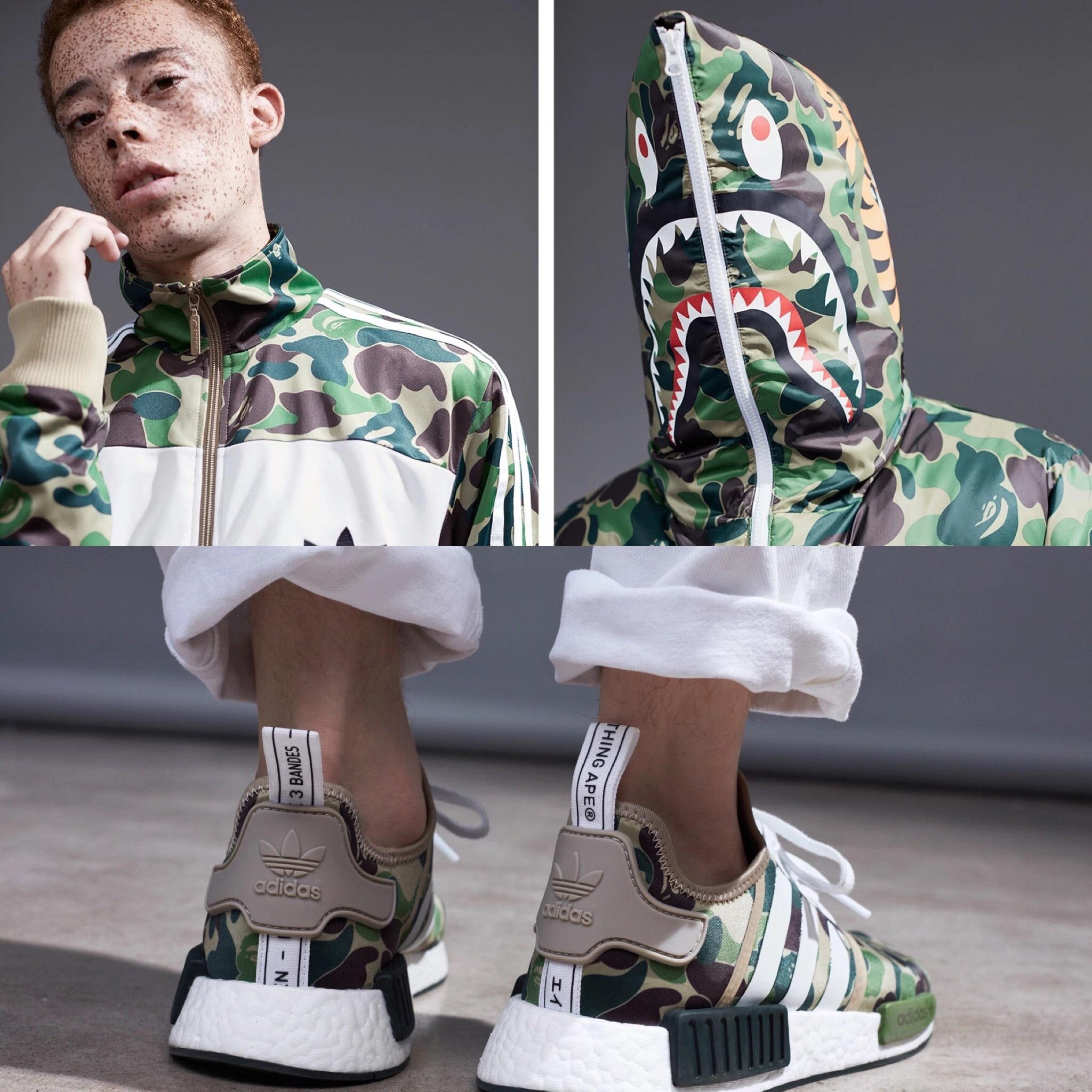 BAPE adidas Originals 2016 sneakers jackets