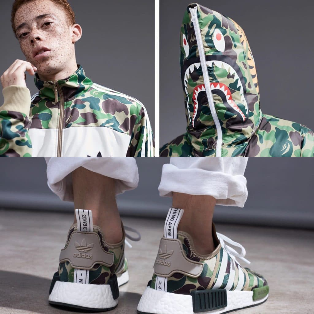 BAPE x adidas Originals Collabo re-release