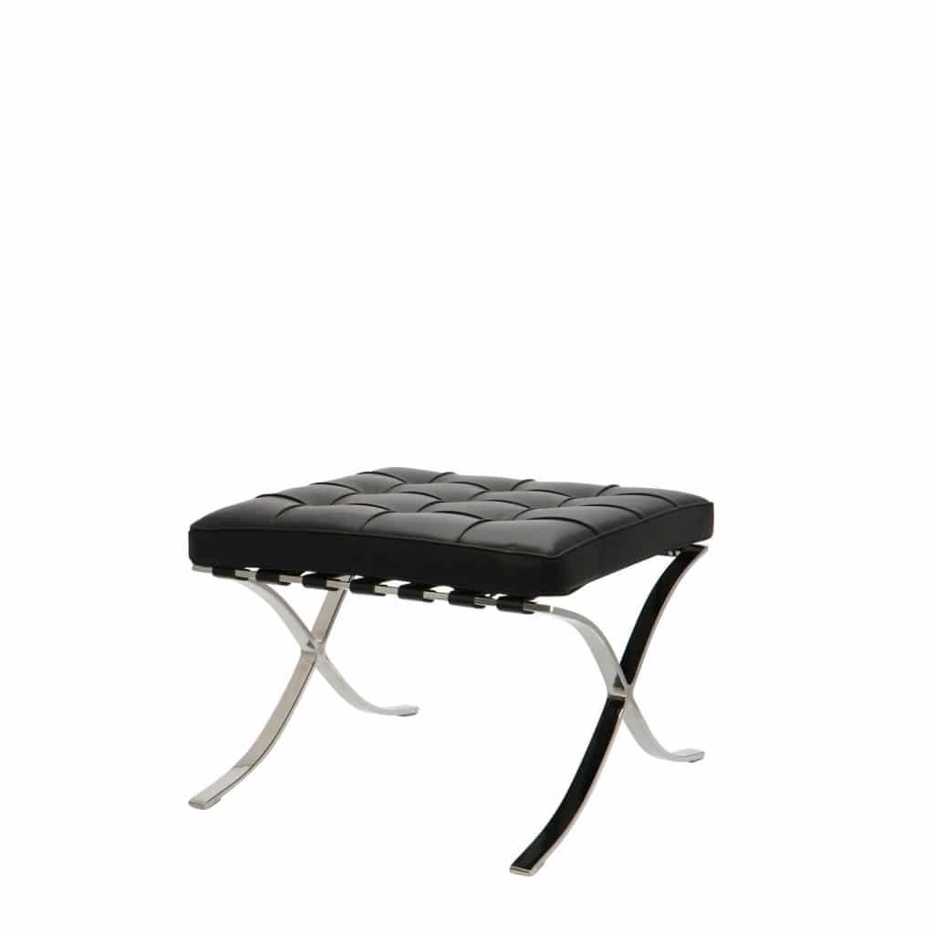 barcelona chair ottoman premium