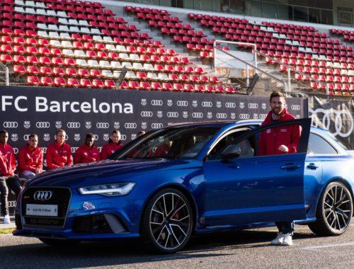 Spelers FC Barcelona krijgen Audi