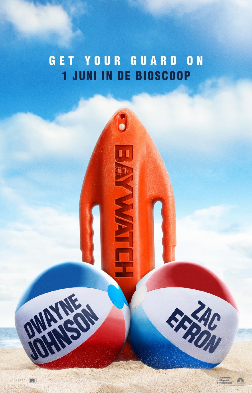 Baywatch winactie bioscoop kaarten