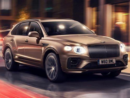 elektrische Bentley SUV 2025 - audi project artemis