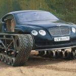 Bentley Continental GT ultratank tank